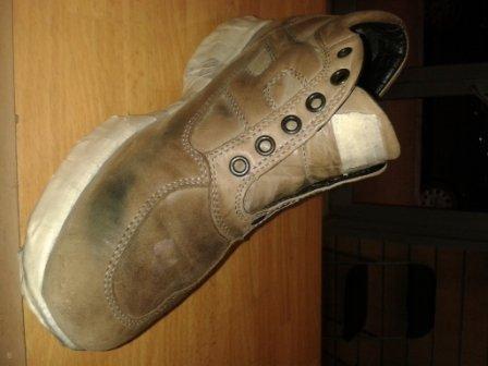 prima Tintura scarpe